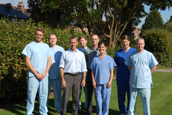 team pic of the brooklands dental staff Bowdon